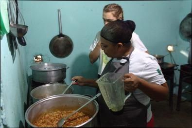 Stirring Soup