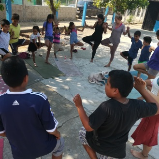 Kids' Yoga in Juluchuca