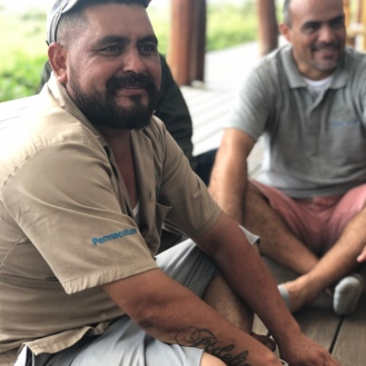 Permaculture and Reservations team members